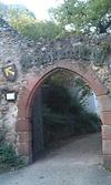 Eingang zur Strahlenburg