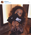 Ella Eyre takes her turn at presenting the night - image from Instagram @ellaeyre