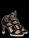 Escarpins en cuir velours de PEDRO MIRALLES