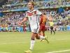 FIFA Fussball- WM 2014, Brasilien,Foto- KUNZ, Deutschland gegen Ghana 2-2