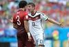 FIFA Fussball- WM 2014, Brasilien,Foto- KUNZ, Deutschland-Portugal 4-0