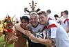 FIFA Fussball- WM 2014, Brasilien,offenes Training,Besuch Indianer,  Foto KUNZ