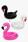 Flamingo And Swan Pool Drinks Cup Float 3 pk