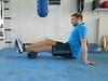 Foam Rolling zur Lockerung der Muskulatur