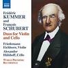 Frédéric Kummer/François Schubert – Duos for Violon and Cello / Naxos 8.573000 / CD € 9,95