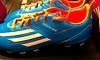 Fußballschuh mit Lasergravur