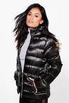 Harriet Satin Bubble Jacket