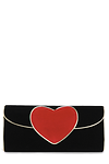 Heart Clutch Bag >