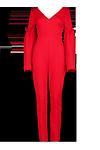 Jacey Flare Sleeve Jumpsuit >