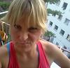 Jenny vor dem Neckarlauf