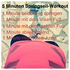 Julias Springseil-Workout