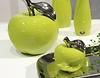 Keramik Deko-Apfel