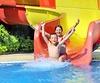 Kinder Wasserrutsche