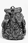 Laura Tribal Sun Patterned Rucksack