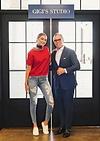 Le designer Tommy Hilfiger avec Gigi Hadid