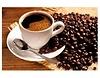Leinwandbild Aromatischer Kaffee