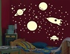Leucht Raketen & Planeten