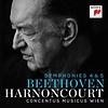 Ludwig van Beethoven: Sinfonien 4&5/Nikolaus Harnoncourt, Concentus Musicus Wien/Sony 88875136452/CD € 17,95
