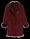 Manteau en cuir réversible de LEONARDO