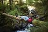 Microadventure im Wald