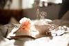 mit einer Tasse Tee und einem guten Buch...