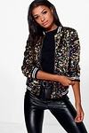 Nancy Bomber À Sequins