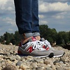 New Balance Sneaker ML574 grey/red