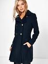 Sara Military Fit And Flare Coat