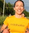 Sibille bei einem Marathon