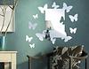 Spiegel-Design Fliegende Schmetterlinge