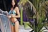 """Sportlicher Surfer-Style: Triangel-Bikini """"Zanio Miami"""" mit Palmen-Print von Banana Moon: 79,95 €"""