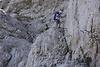 Steile Klettersteige