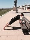 Tabata Training am Strand