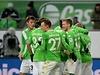Torjubel des VfL Wolfsburg