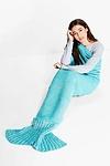 Twist Yarn Mermaid Tail Blanket