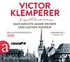 Victor Klemperer: Man möchte immer Weinen und Lachen in einem / Aufbau 9783945733097 / 4 CD € 16,95