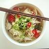 Vietnamesische Nudelsuppe