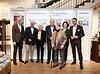 Von links nach rechts: Herr Dr. Aigner vom Handelsverband Bayern, Herr Franz Müller vom Bayerisches Wirtschaftsministerium, Helga Rid (Ehefrau des 1992 verstorbenen Stiftungsgründers Dr. Günther Rid), Dieter Hanitzsch, Doti Hürlimann (Ehefrau des 2001 verstorbenen Ernst Hürlimann),  Frau Pichlbauer ( Doti Hürlimann (Ehefrau des 2001 verstorbenen Ernst Hürlimann), Michaela Pichlbauer (Vorständin der Rid Stiftung) und Robert Waloßek (Geschäftführer Bettenrid)