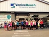 Vorbereitung mit Venice Beach