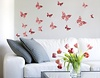 Wandsticker Schmetterling-Set Floral