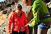Was gibt es bei einem Klettersteig zu beachten in punkto Sicherheit und Verhalten im Steig?