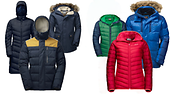 Going to the Christmas market in the city or hiking in the snowy mountains? The selection of winter jackets is huge!