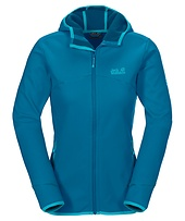 Damen Softshelljacke mit Kapuze Glacier Valley II Jacket W