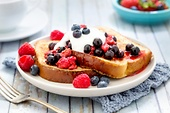 A hearty breakfast: the perfect French toast