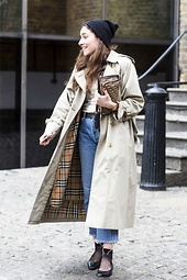 London Chic: Trenchcoats