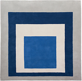 "bauhaus #93: Teppich ""Homage to the Square"" von Josef Albers"