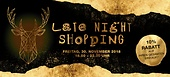Late-Night Shopping am 30. November