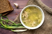 Fast and easy: Chicken broth