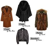 STAY WARM WITH THESE COATS & JACKETS