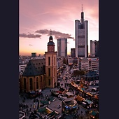 Frankfurt am Main, © fotocommunity.de via Pinterest